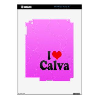 I love Calva Decals For iPad 2