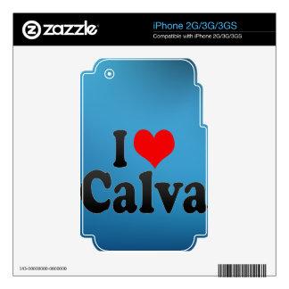 I love Calva Skin For The iPhone 3