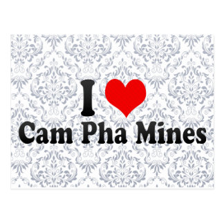 I Love Cam Pha Mines, Viet Nam Postcard
