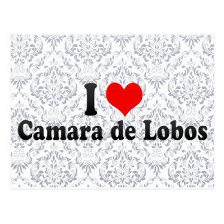 I Love Camara de Lobos, Portugal Postcard