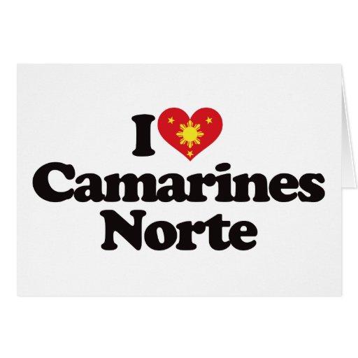 I Love Camarines Norte Greeting Cards
