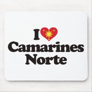 I Love Camarines Norte Mouse Pad