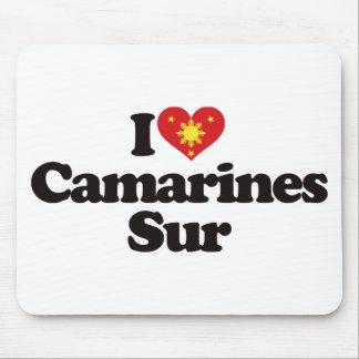 I Love Camarines Sur Mouse Pad