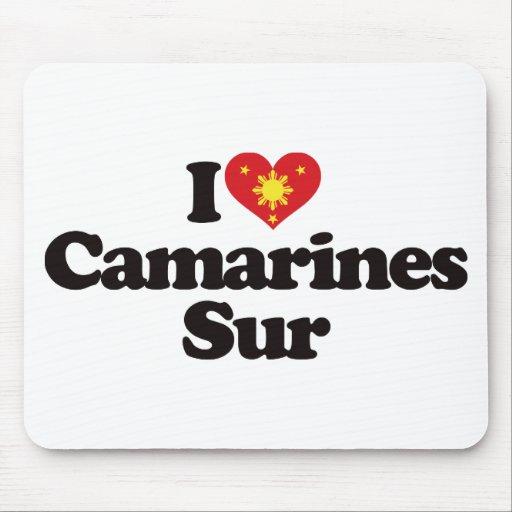 I Love Camarines Sur Mousepads