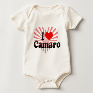 I love Camaro Baby Bodysuit