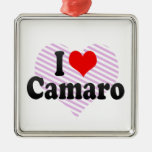 I love Camaro Christmas Tree Ornament