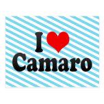 I love Camaro Postcard