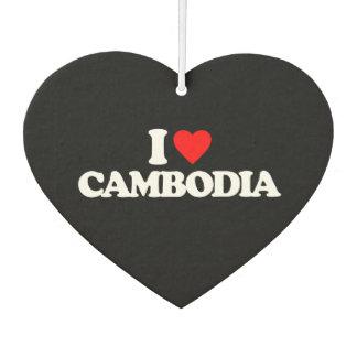 I LOVE CAMBODIA AIR FRESHENER