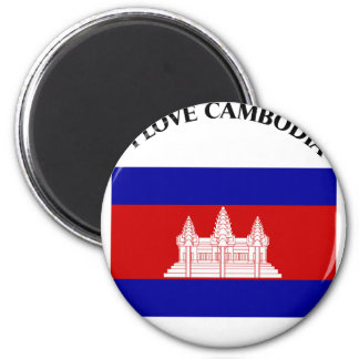 I LOVE CAMBODIA-DESIGN 2 FROM 933958STORE REFRIGERATOR MAGNET