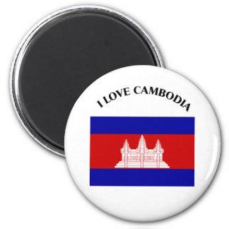 I LOVE CAMBODIA-DESIGN 2 FROM 933958STORE FRIDGE MAGNETS