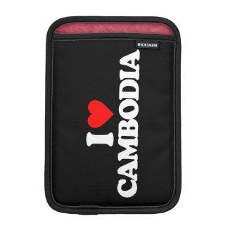 I LOVE CAMBODIA iPad MINI SLEEVES