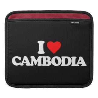 I LOVE CAMBODIA SLEEVES FOR iPads