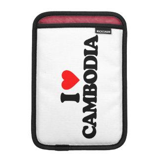 I LOVE CAMBODIA SLEEVE FOR iPad MINI