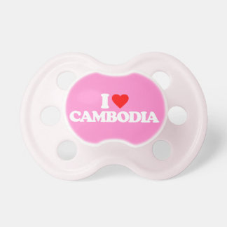 I LOVE CAMBODIA PACIFIER