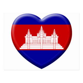 I love Cambodia Postcard
