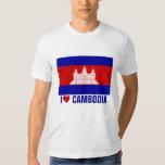 I Love Cambodia Tshirt