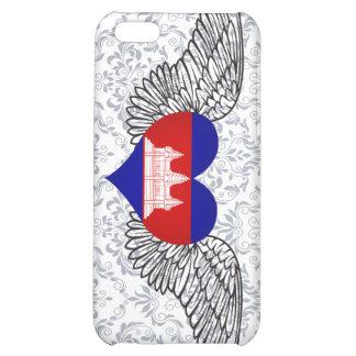 I Love Cambodia -wings iPhone 5C Cover