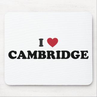 I Love Cambridge Massachusetts Mouse Pads