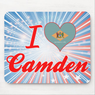 I Love Camden, Delaware Mouse Pad