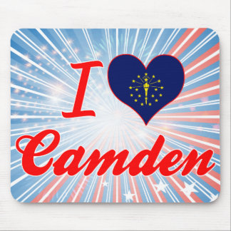 I Love Camden, Indiana Mouse Pad