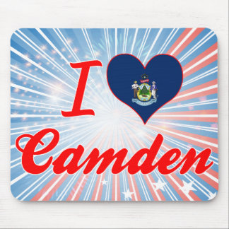 I Love Camden, Maine Mouse Pad
