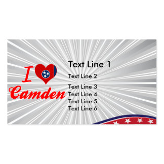 I Love Camden, Tennessee Business Cards