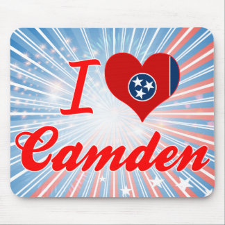 I Love Camden, Tennessee Mouse Pad