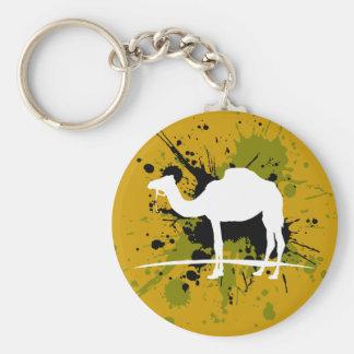 I love Camel Basic Round Button Keychain