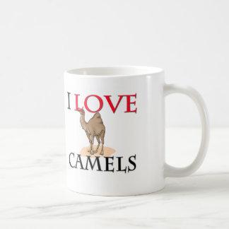 I Love Camels Classic White Coffee Mug