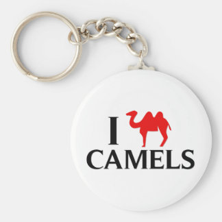 I Love Camels Key Chains