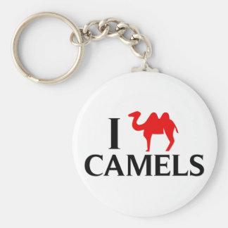 I Love Camels Keychains