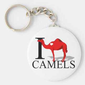I Love Camels Keychains
