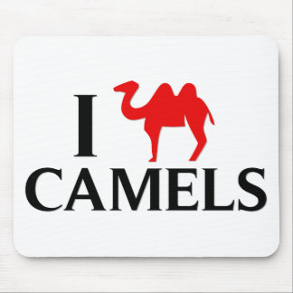 I Love Camels Mouse Pad