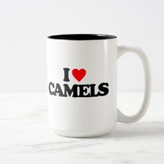I LOVE CAMELS Two-Tone COFFEE MUG