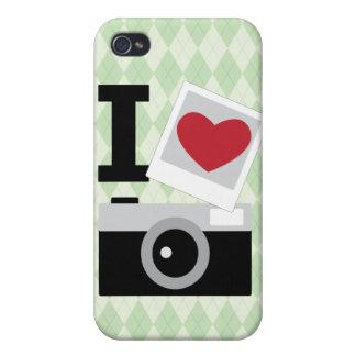 I love Camera iPhone 4 Cases