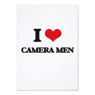 I love Camera Men Cards