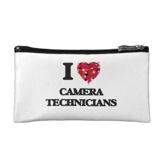 I love Camera Technicians Cosmetic Bag