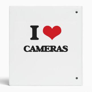 I love Cameras 3 Ring Binder