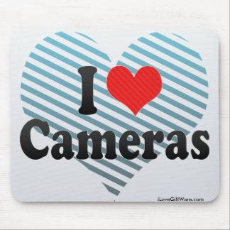 I Love Cameras Mousepad