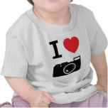 I love Cameras T-shirt
