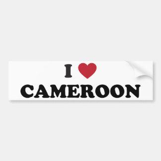 I Love Cameroon Bumper Sticker