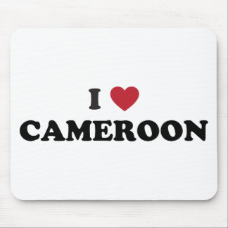 I Love Cameroon Mouse Pad