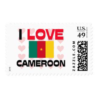 I Love Cameroon Postage