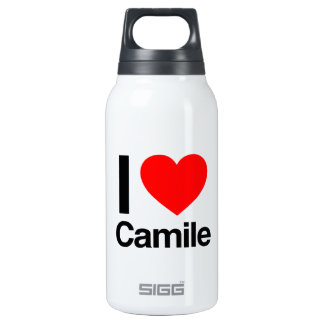 i love camile 10 oz insulated SIGG thermos water bottle