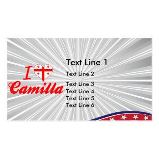 I Love Camilla, Georgia Business Cards