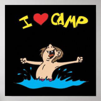 I Love Camp 2 Print