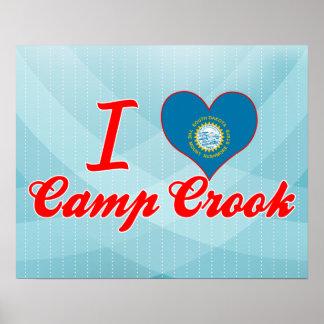I Love Camp Crook, South Dakota Posters