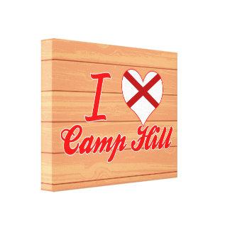 I Love Camp Hill, Alabama Stretched Canvas Prints
