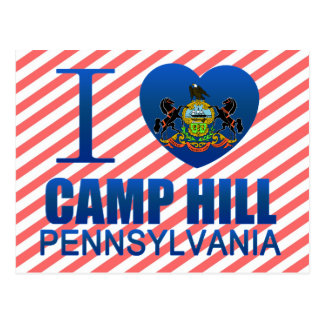 I Love Camp Hill, PA Postcard