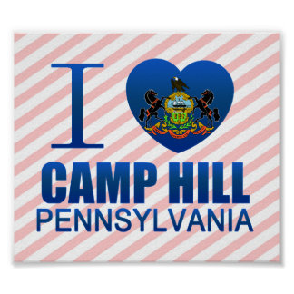 I Love Camp Hill, PA Posters